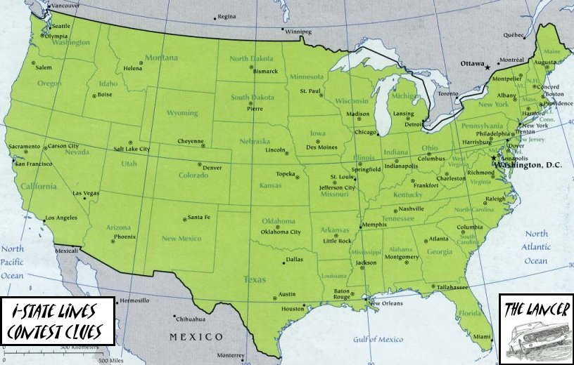 Ihnnnohu Map Of Usa With States And Cities - Us big cities map