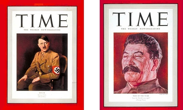 man of the year hitler Stalin