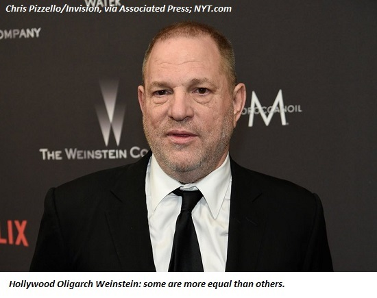 The United States Of Weinstein: Complicity, Greed, & Corruption Is The Status Quo